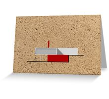 Architecture II Greeting Card