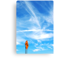 Directing the Clouds Canvas Print