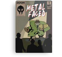 Metal Faced - Comic Cover Metal Print