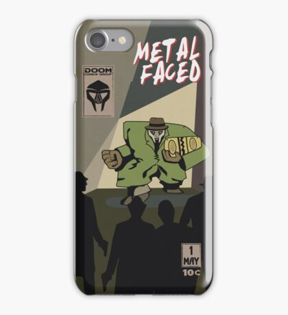 Metal Faced - Comic Cover iPhone Case/Skin