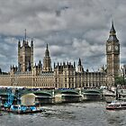 Houses of Parliment by Anders Hollenbo