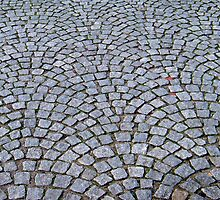 Stone pavers - Luneburg Germany by Patrick Czaplewski