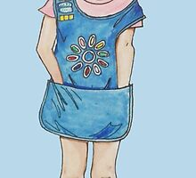 Daisy Girl Scout by Wendy Crouch