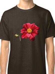 Dahlia flower w/Bud ~ T Classic T-Shirt