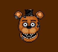 Five Nights at Freddy's 2 - Pixel art - Withered Old Freddy by GEEKsomniac