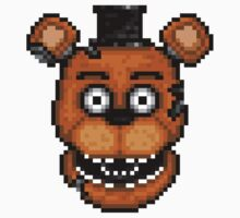 Five Nights at Freddy's 2 - Pixel art - Withered Old Freddy Kids Clothes