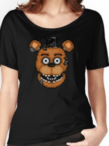 Five Nights at Freddy's 2 - Pixel art - Withered Old Freddy Women's Relaxed Fit T-Shirt