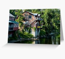 SHELBOURNE FALLS MASSACHUSETTS / CARD ONLY Greeting Card