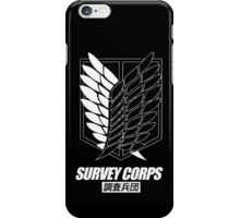 Attack on Titan Survey Corps iPhone Case/Skin