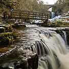 Ashgill Waterfalls - Alston Moor by David Lewins