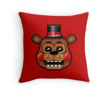Five Nights at Freddy's 2 - Pixel art - Toy Freddy Throw Pillow