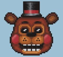 Five Nights at Freddy's 2 - Pixel art - Toy Freddy Kids Clothes