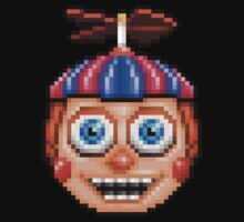 Five Nights at Freddy's 2 - Pixel art - Balloon Boy One Piece - Short Sleeve