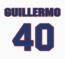 National baseball player Guillermo Quiroz jersey 40 by imsport