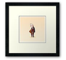 Adventure Time and Space! War Doctor Framed Print