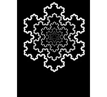 The Koch Snowflake Photographic Print