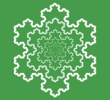 The Koch Snowflake Kids Clothes