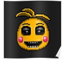 Five Nights at Freddy's 2 - Pixel art - Evil Toy Chica  Poster