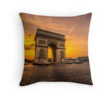 Arc De Triomphe 2 Throw Pillow