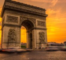 Arc De Triomphe 2 Sticker