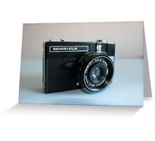 Retro Camera Greeting Card