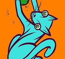 Catnip Fever by artdyslexia
