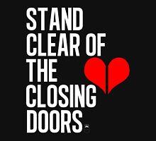 Closing doors Black Unisex T-Shirt