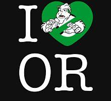 I PNW:GB OR (black) Green Heart v2 Unisex T-Shirt
