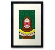 Ooooh Banana Framed Print