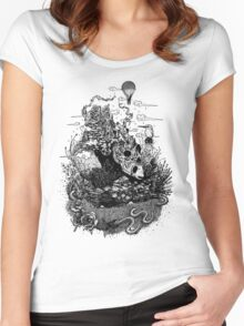 Land of the Sleeping Giant Women's Fitted Scoop T-Shirt