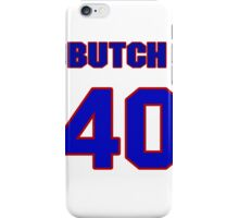 National baseball player Butch Davis jersey 40 iPhone Case/Skin