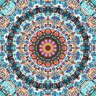 Kaleidoscopic Mandala by Phil Perkins