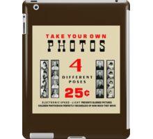 1960's Photobooth Display iPad Case/Skin