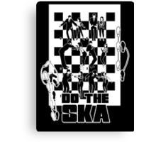 Do the Ska - two tone Canvas Print