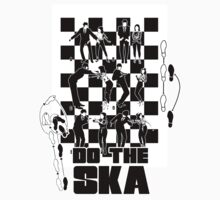 Do the Ska - two tone Kids Clothes