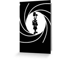 Double O Gadget Greeting Card