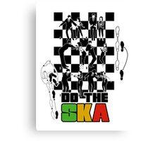 Do the Ska - colour Canvas Print
