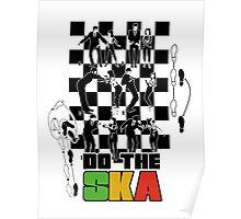 Do the Ska - colour Poster