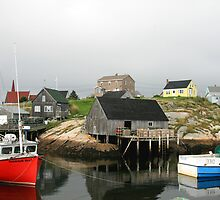 Scenic Peggys Cove  by HALIFAXPHOTO