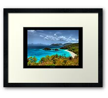 Choose Paradise Framed Print