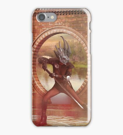 One With the Sword iPhone Case/Skin