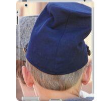 Funny hat iPad Case/Skin