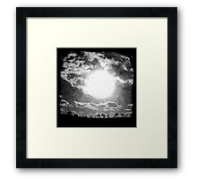 The Sun - TTV Framed Print