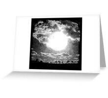 The Sun - TTV Greeting Card