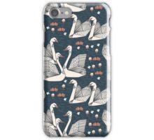 Origami Swans by Andrea Lauren iPhone Case/Skin