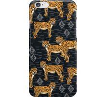 Safari Cheetah Pattern by Andrea Lauren iPhone Case/Skin