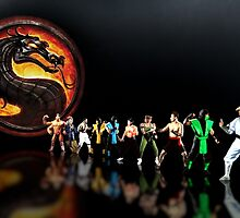 Mortal Kombat pixel art by smurfted