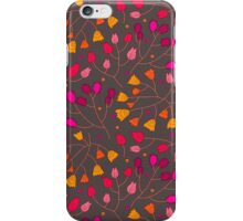 Floral seamless pattern iPhone Case/Skin