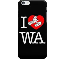 I PNW:GB WA (black) v2 iPhone Case/Skin