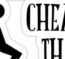 Hiking...cheaper than therapy Sticker